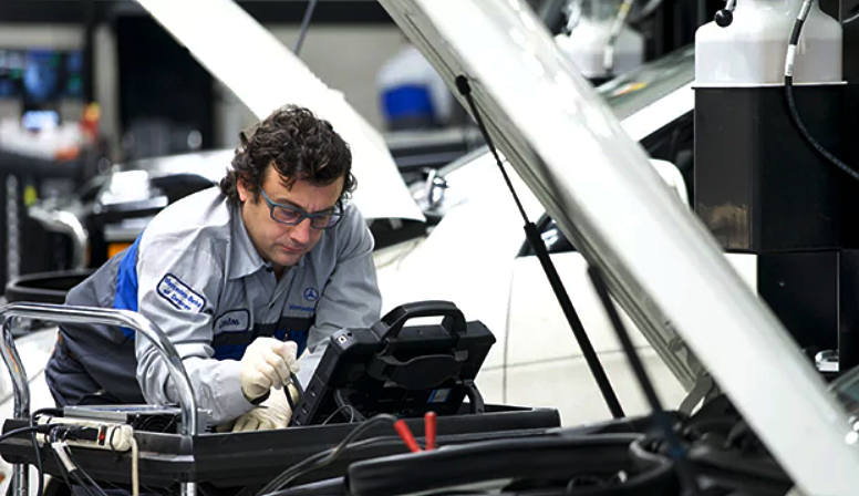 How Much is Service B for Mercedes-Benz