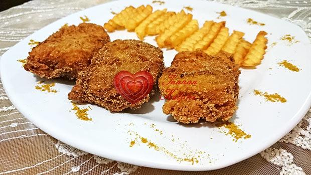 El Beyk-El Baik-KFC Tavuk Tarifi-Çıtır Kızarmış Altın Tavuk