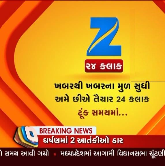 Zee 24 Kalak Test Feed and Zee 24 hour Busines added in Intelsat20