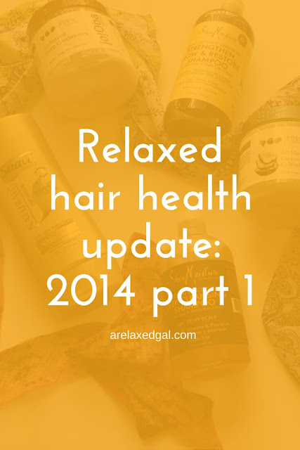 2014 is coming to a close and I want to share with you how my relaxed hair fared throughout the year. | arelaxedgal.com