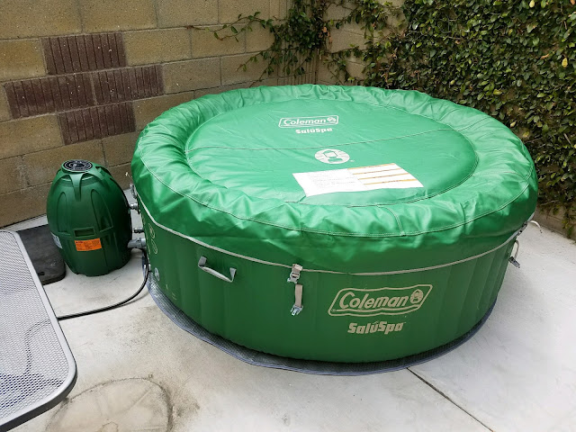 Coleman Portable Inflatable Spa Review