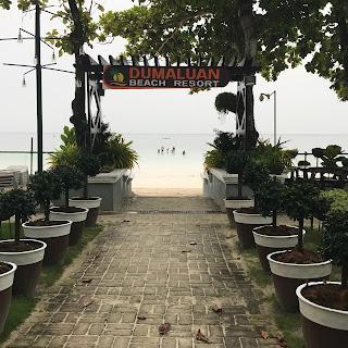Dumaluan Beach Resort beachfront