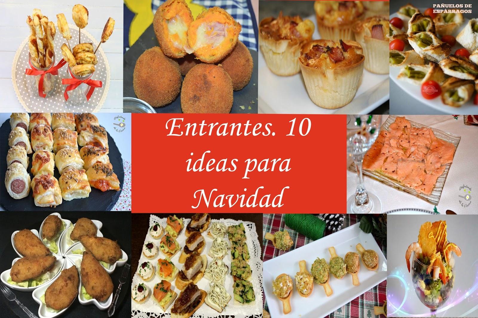 Disfrutando de la Cocina | Entrantes fáciles. 10 Ideas para ...