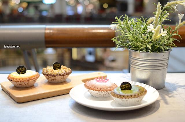 Hanjuku Cheese Tarts - Original, Matcha, Hazelnut and Purple Potato