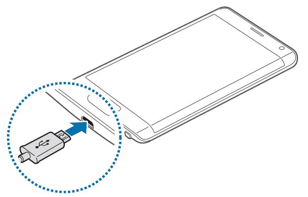 Prima carica Samsung Galaxy Note Edge - Come eseguire prima ricarica batteria