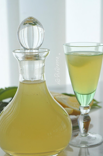 Fresh Lemon Syrup