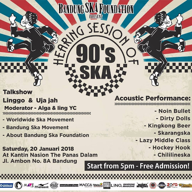 Hearing Session Of 90's SKA Bandung SKA Foundation