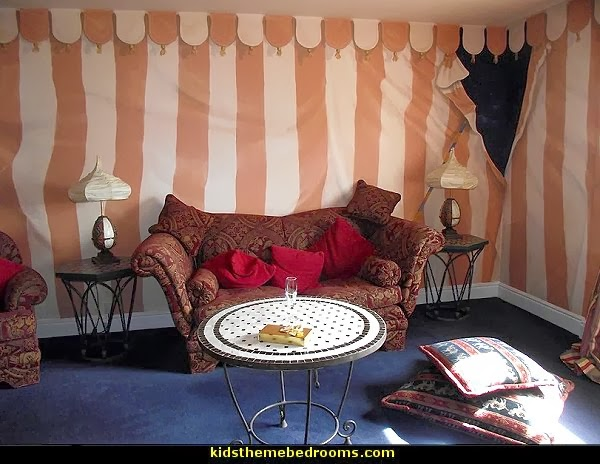 Arabian Nights Theme Bedrooms