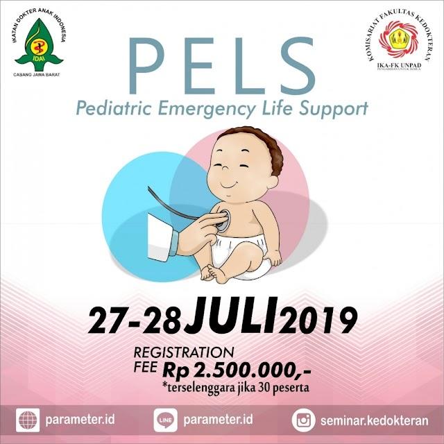 Pelatihan PELS (Pediatric Emergency Life Support) 27-28 Juli 2019 Bandung