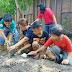 PIR Paroki Nandan Menanam Ketela dan Jagung