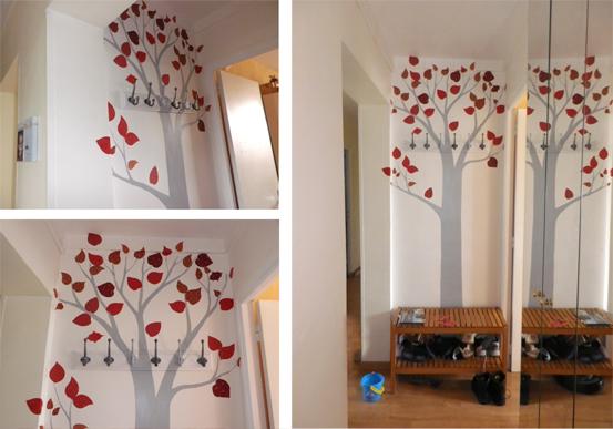 superblog le blog de superlaure porte manteau arbre. Black Bedroom Furniture Sets. Home Design Ideas