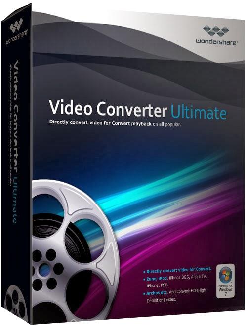 برنامج Wondershare Video Converter Ultimate لتحويل صيغ الفيديو