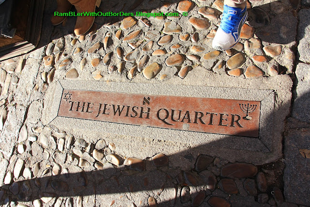 Plaque, Jewish Quarter, Toledo, Spain