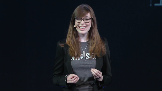 Geneviève Genevieve Forget Ubisoft E3 2015 conference