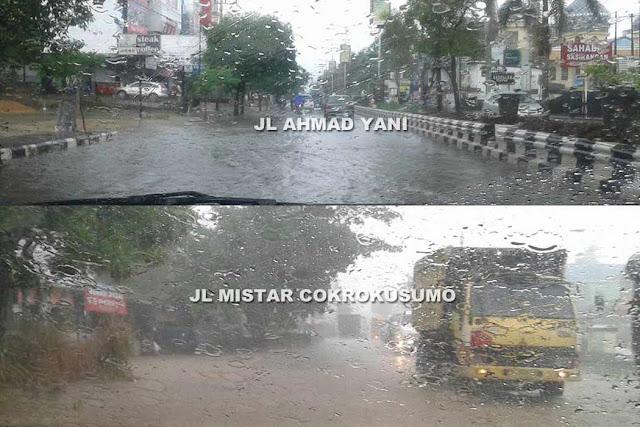 Hujan Turun Beberapa Menit, Netizen Banjarbaru Riuh di Facebook