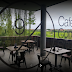 9/11 Cafe Cantik dengan unsur kayu yang futuristik di Bali