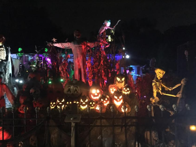 Halloween frights, sights and sounds!