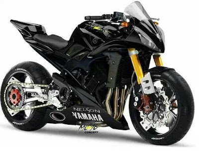 sport bike by Yamaha