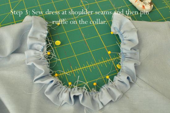 A Ruffled Collar Tutorial Simple Simon And Company