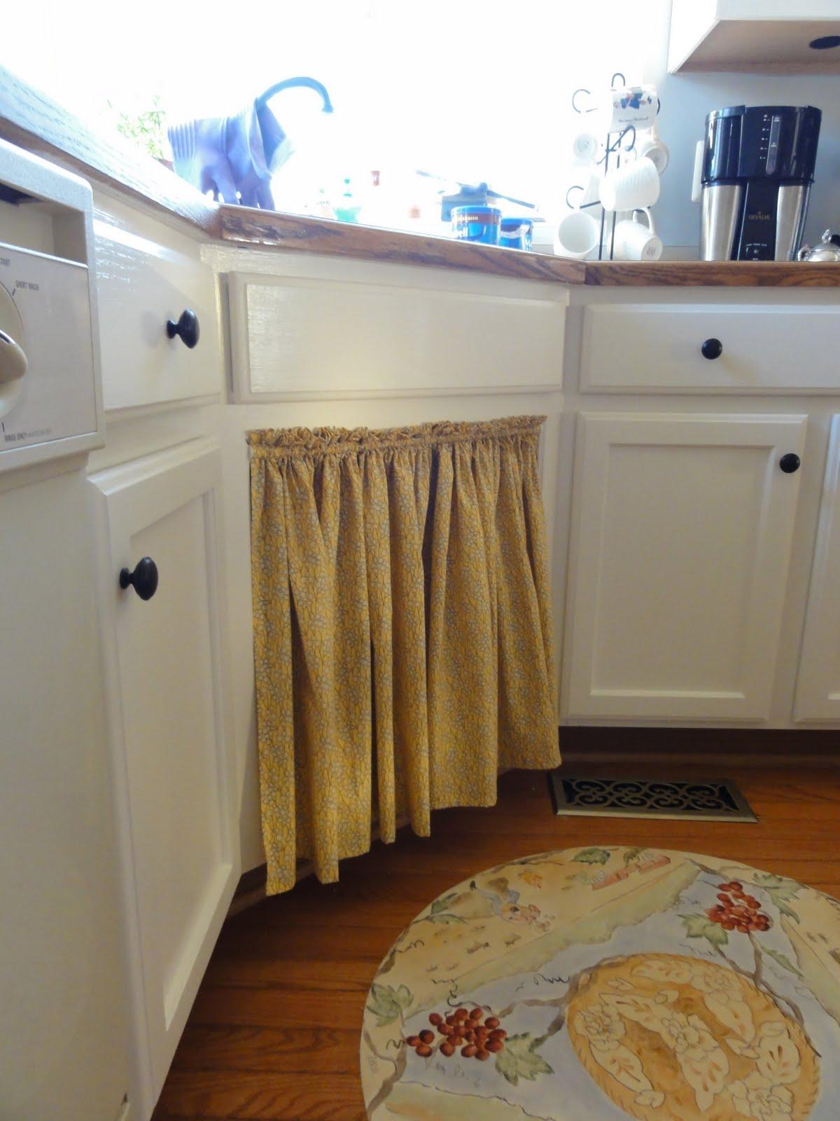 Skirt Under Kitchen Sink