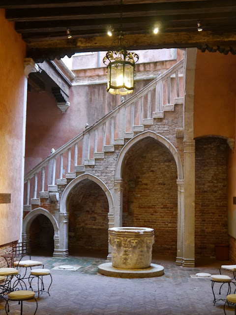 Escaliers Carlo Goldoni