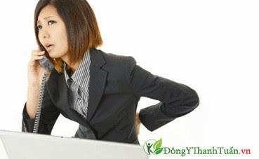Tình trạng căng thẳng là nguyên nhân đau lưng