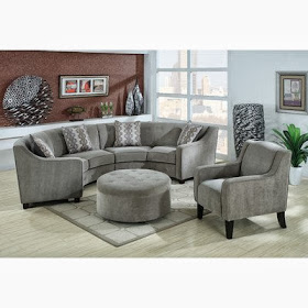 Buy curved sofa online curved sectional sofa for Curved sectional sofa amazon