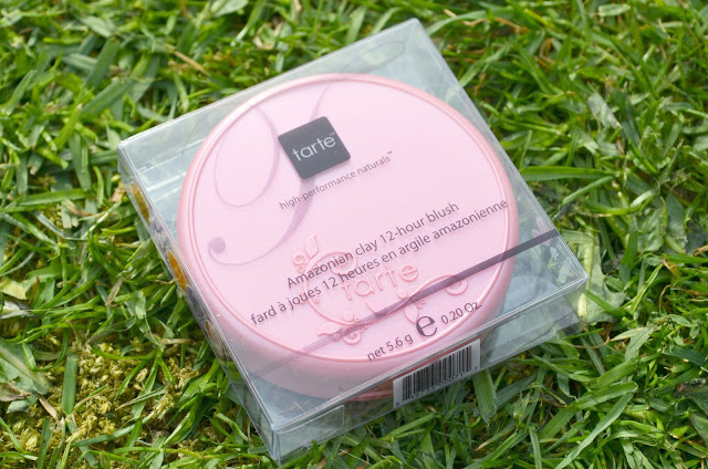 Image of the Dollface blush in the clear plastic packaging