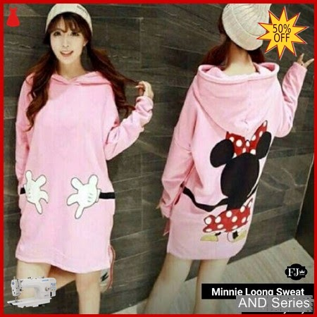 AND312 Baju Atasan Wanita Blouse Minnie Long BMGShop