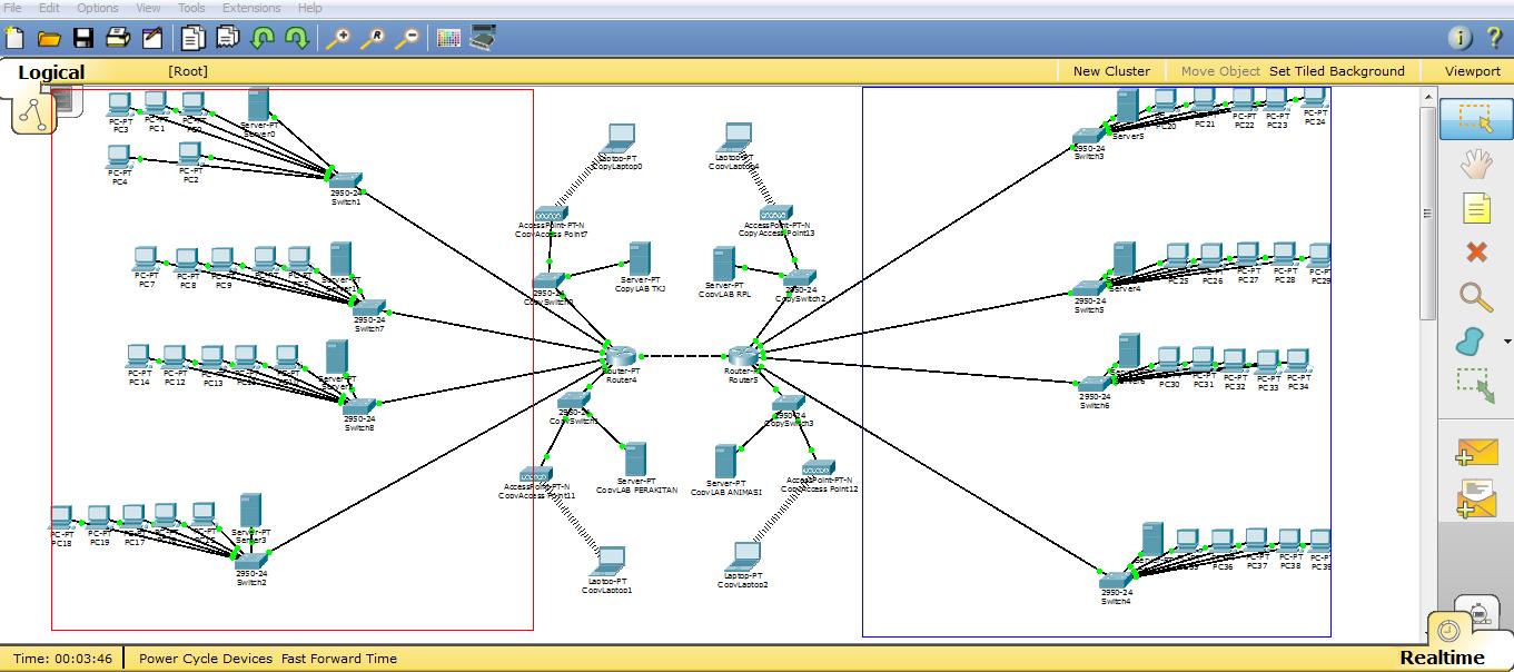 Cara Menghubungkan Dua Buah Router Pada Cisco Packet Tracert