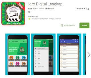 iqro lengkap digital aplikasi android