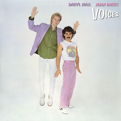 Daryl Hall and John Oates - Voices okładka albumu