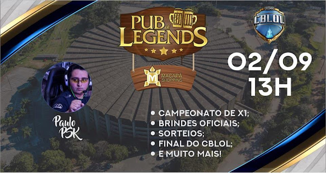 Pub of Legends no Macapá Shopping