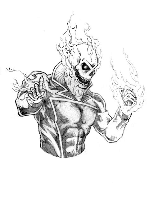 Dennis M Sweatt Comic Book Creations And Design Ghost Rider Spirit Of Vengeance