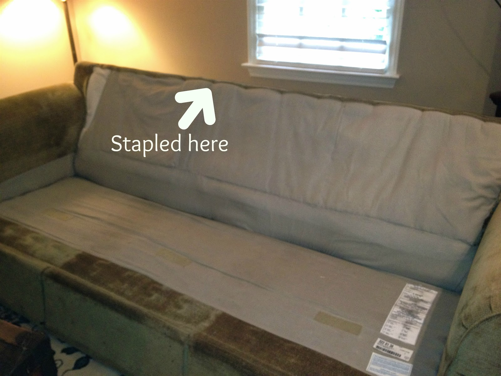 Always Something A Novice Makes a Slipcover Part II