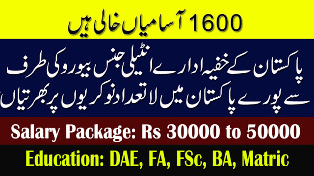 Intelligence Bureau Jobs Apply Online