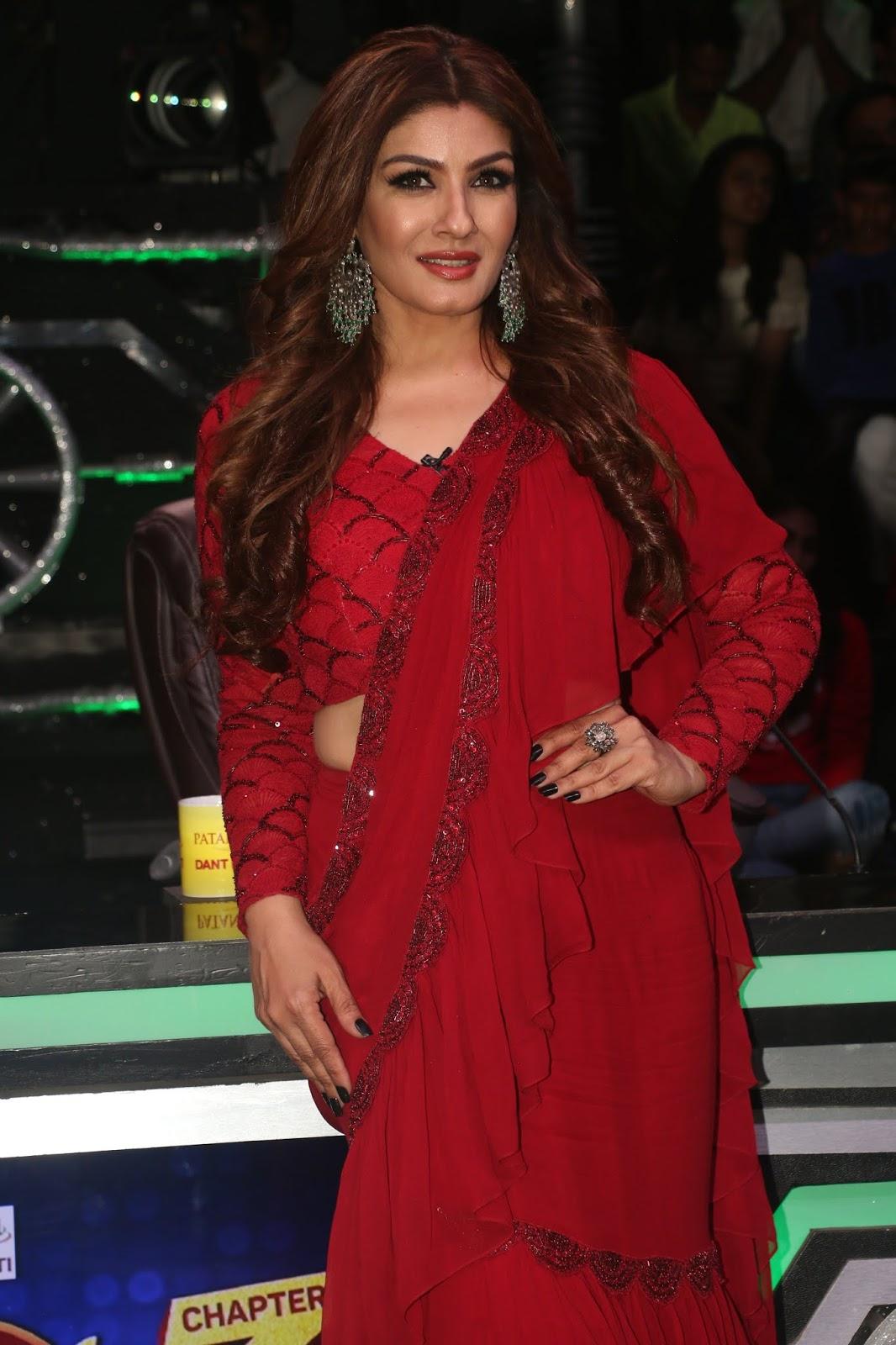 Ravishing Raveena Tandon On The Sets Of Super Dancer Chapter
