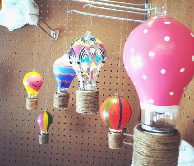 Painted Light Bulb Art Design Easy Crafts Ideas To Make