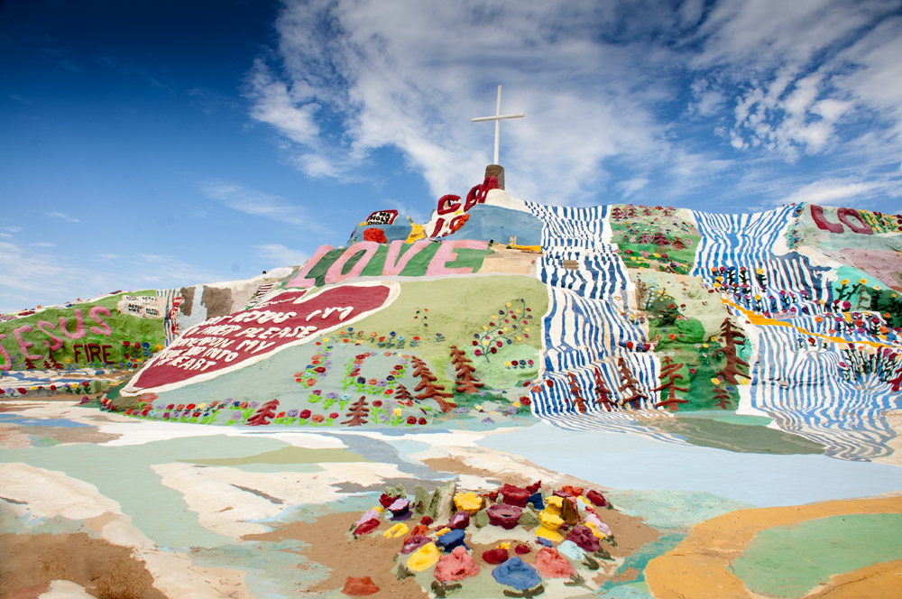 Salvation Mountain, Niland, CA