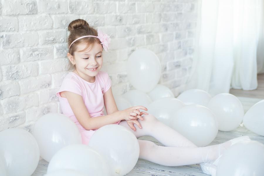 Фотосессия дня рождения Софии. Балерина. Детский фотограф в Гродно