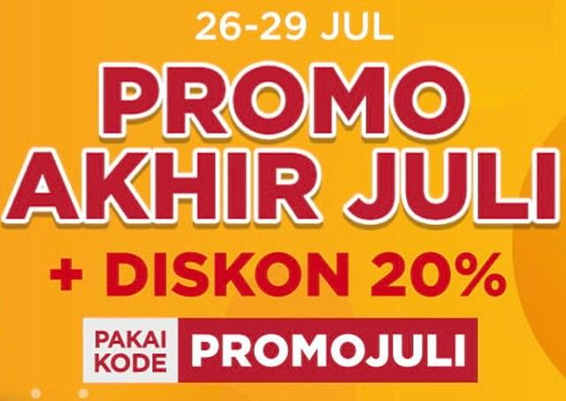 Kode promo akhir Juli 2018 - shopee.co.id