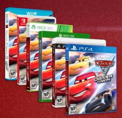 Themeparkmama Disney Pixar S Car 3 Driven To Win Video Game