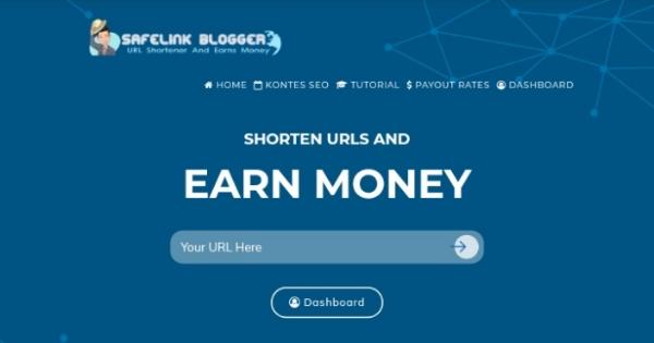 Safelinkblogger.com - URL Shortener High CPM