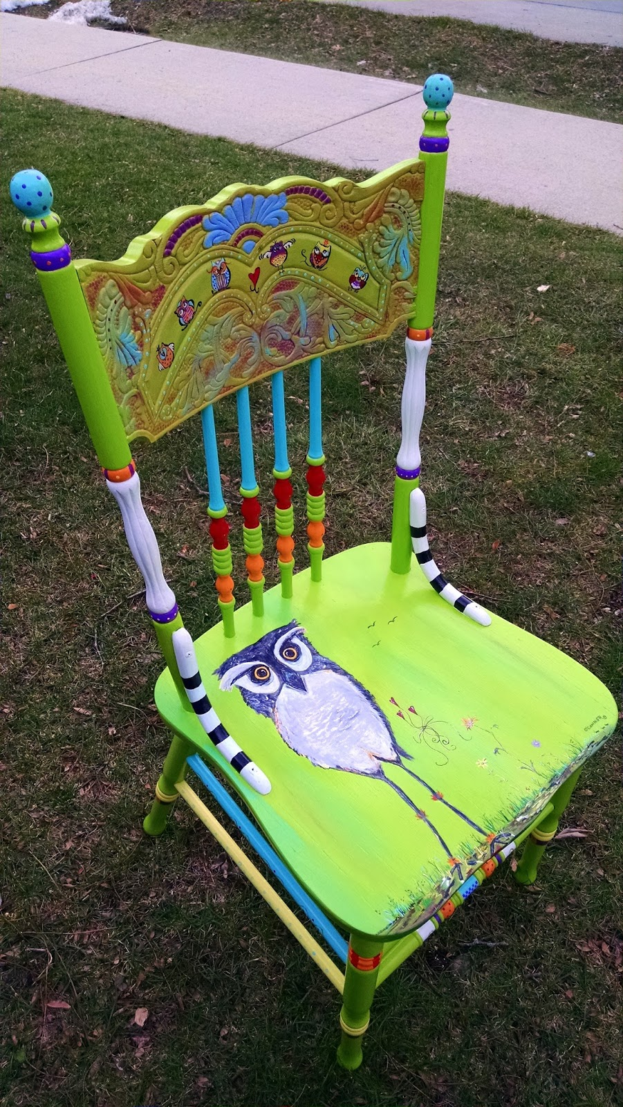 Funky painted furniture ideas - Funky Painted Furniture Ideas 35