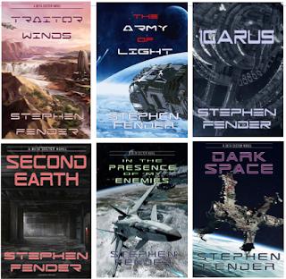 Stephen Fender's author page on Amazon