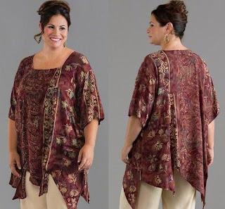 baju batik wanita gemuk