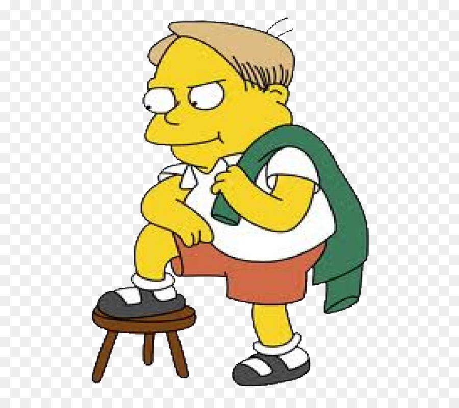 The Simpsons Characters Martin Prince Simpsons Intelligent