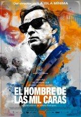 """Carátula del DVD: """"El hombre de las mil caras"""""""