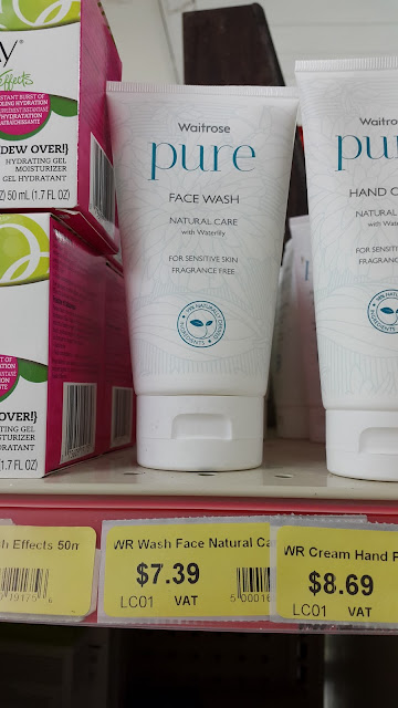Waitrose Pure Face Wash - www.modenmakeup.com