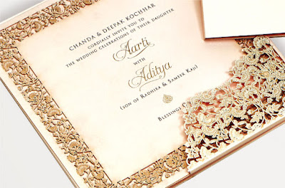 chanda-deepak-kochhar-daughter-wedding-card
